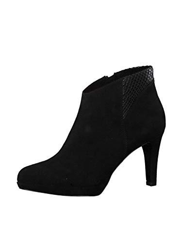 s.Oliver Damen Stiefeletten 25342-23, Frauen Ankle Boots, Freizeit Stiefel halbstiefel Bootie knöchelhoch reißverschluss,Black Snake,40 EU / 6.5 UK
