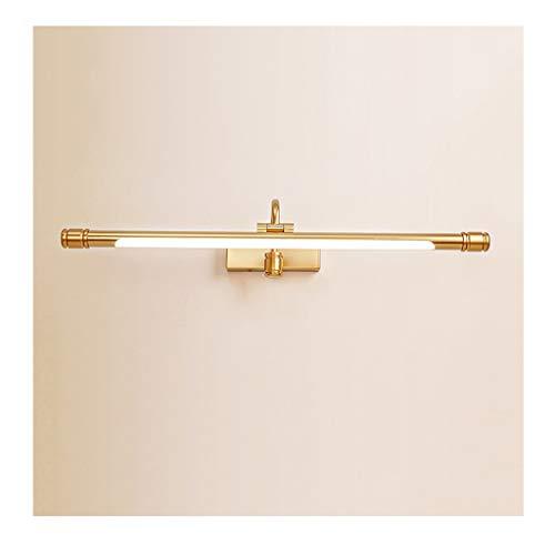 & hoofdlamp met spiegel LED voor badkamer, spiegel voor, licht spiegel, licht, foto-licht, wandlamp, lamp, warmwit licht spiegel licht