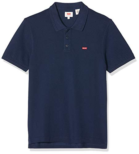 Levi's Herren Housemark Polo T-Shirt, Blau (Dress Blues 0003), X-Small