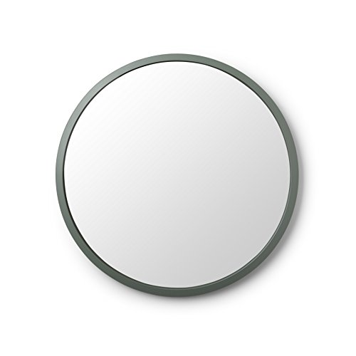 Umbra Hub Wall Mirror – 24 Inch Round Wall Mirror for Entryways,...