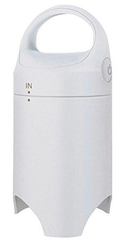 アール 衣類圧縮袋 掃除機なしで吸引&圧縮 エアッシュ ホワイト AIR-001