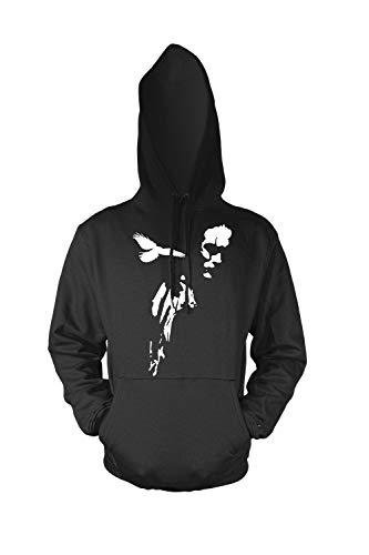 The Crow - Eric Draven Cult Film Scherm Gedrukt Heren Hoodie