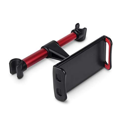 BEYEE Soporte giratorio para asiento trasero de 360 grados, compatible con iPad Pro de 10.5 pulgadas, Galaxy, Switch, Fire, All 4'' - 10.5 ''Tablets (rojo)