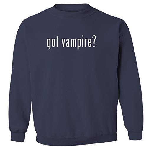 ¿Tienes vampiro? – Sudadera de cuello redondo para hombre, Marino, XX-Large