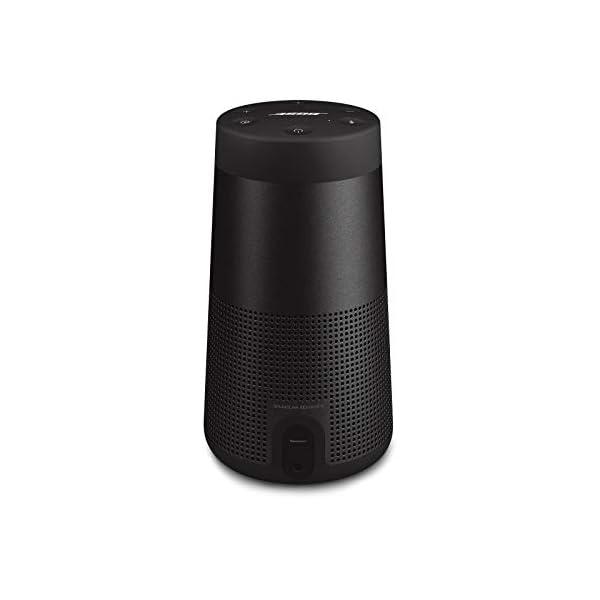 Bose SoundLink Revolve (Series II) Portable Bluetooth Speaker – Wireless Water-Resistant Speaker with 360° Sound, Black
