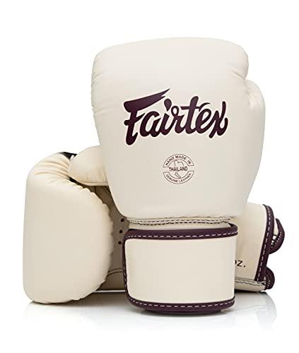 Fairtex BGV16 Leather Muay Thai Boxing Gloves