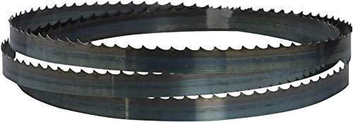 SCHEPPACH Hoja para Sierra de Banda Basa 1, Tamaño 12mm de Ancho, 1490mm de Largo y 4 Dientes por Pulgada
