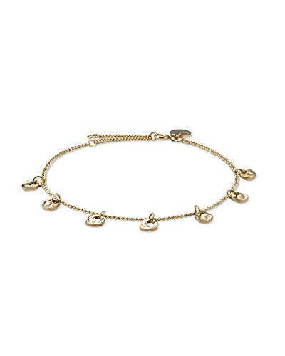 Rosefield Damen Multi Liquid Charms Armband Gold BMLBG-J238