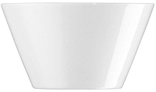 Arzberg Tric Weiss Schale 12 cm, Porzellan, White, 14.2 x 13.3 x 7.1 cm