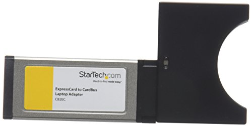 StarTech.com ExpressCard auf PCMCIA CardBus Adapter - Laptop PC Card Adapter für Expresscard 34mm Schacht