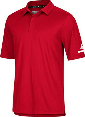 adidas Team Iconic Coaches Polo S Power Red-White