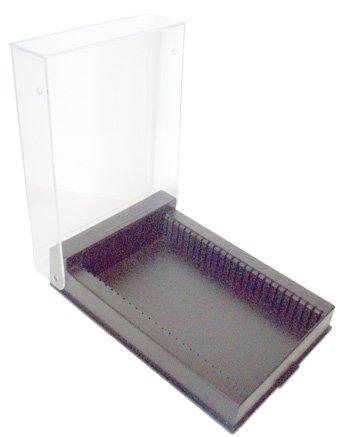 Euromex Aufbewahrungsbox für 25 vorbereitete Mikroskop