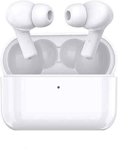 HONOR Choice True Auriculares Bluetooth, TWS Auriculares Inalámbricos en la Oreja con Caja de Carga, Bluetooth 5.0, Doble micrófonos incorporados, Reducción de Ruido(Blanco)