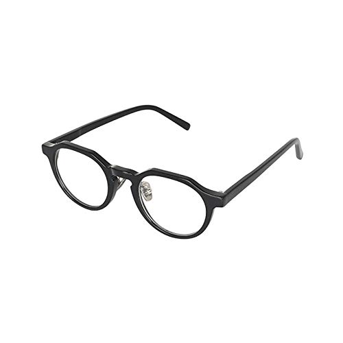 YGK132 老眼鏡 福祉 介護 ルーペ Reading Glasses シニアグラス ダルトン BONOX 男女兼用 敬老の日 プレゼント 母の日 (YGJ132BK BLACK, 2.0)