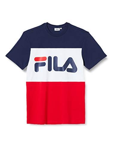 Fila 681244 T-Shirt Uomo Rosso Blu S