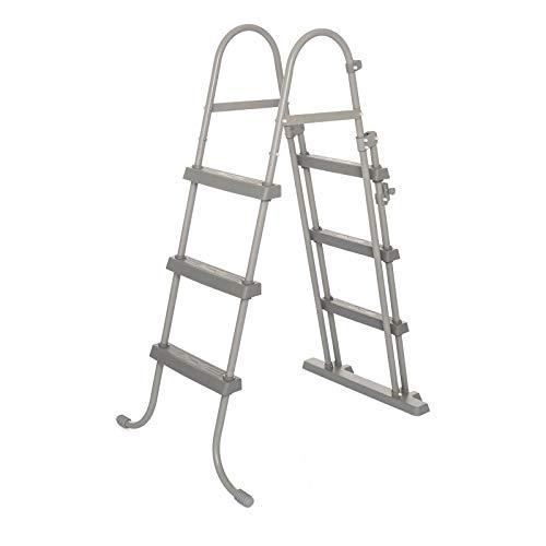 Bestway 58330 - Escalera para Piscina Desmontable 107 cm