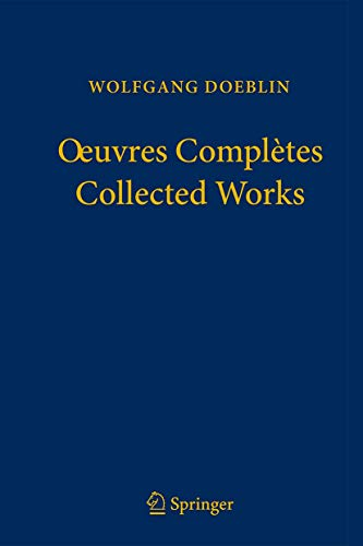 Oeuvres Complètes - Collected Works