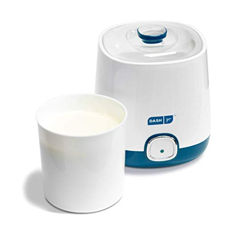 Dash Bulk Yogurt Maker Machine with One Touch Display + BPA-Free Storage Container & Lid: Perfect for Organic, Sweetened, Flavored, Plain, or Sugar...