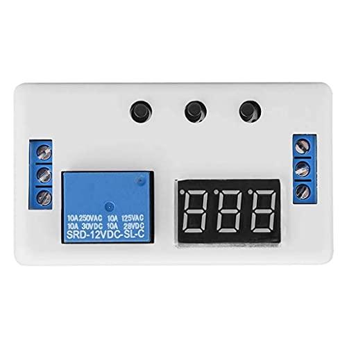 Diaod Módulo de Interruptor de Control de automatización del Temporizador Ajustable de la Pantalla LED 12V 20MA