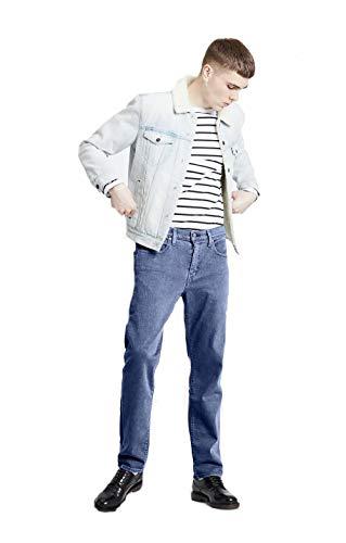 Levi's 502 Regular Taper Jeans, Azul (Cedar Light Mid Overt ADV Tnl 0514), 42W / 32L para Hombre
