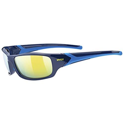 Uvex Sportstyle 211 Gafas de Deporte, Adultos Unisex, Blue/Yellow, One Size
