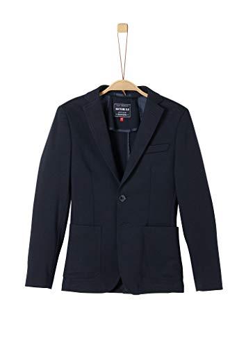 s.Oliver RED LABEL Jungen Jogg Suit-Sakko blue nights melange 170
