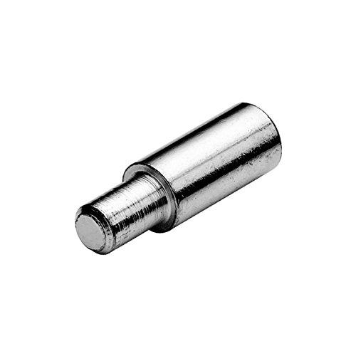 SECOTEC Bodenträger MAXI mit Ansatz | Bohr ø 5 mm | Plattenträger zum Stecken | Stahl | 100 Stück