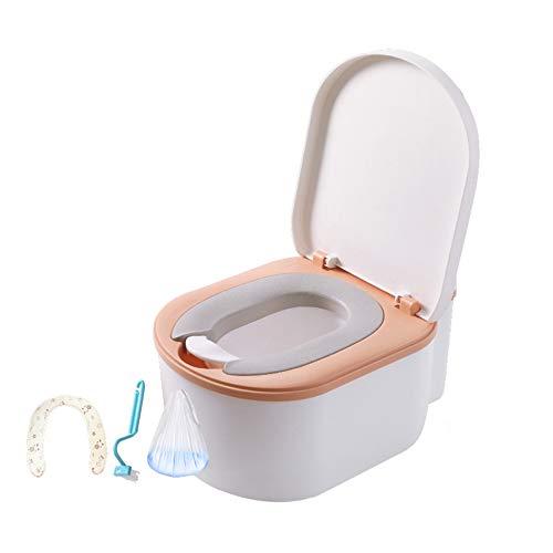 Kleinkind-Toilettenstuhl, multifunktionale Kindertoilette, Simulationstoilette, spritzwassergeschützter Urin, Toilettenbürste und Putzsack für Jungen und Mädchen/C / 29.7x40.8x49.1cm