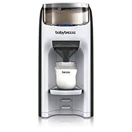 New and Improved Baby Brezza Formula Pro Advanced Formula Dispenser Machine – Automatically Mix a Warm Formula Bottle Instantly – Easily Make Bottle with Automatic Powder Blending
