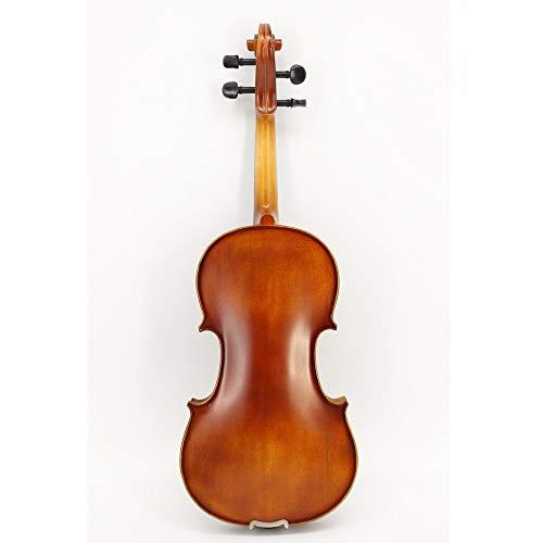 SHAND Handgemaakte leerlingen oefenen op viool viool high profile carbon fiber plaat Villa SHAND (Color : Brown, Size : 3/4)