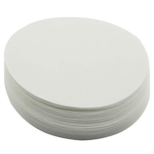 DGZZI Filter Paper 100PCS 15cm Qualitative 102 Medium-Speed FilterPaper for Laboratory Oil Filter Paper