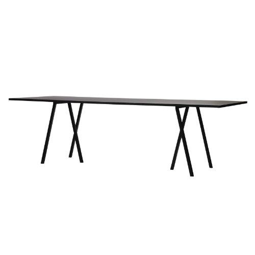Hey loop soporte mesa, mesa de linóleo chapas de madera de fresno ...