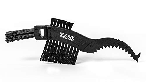 Muc-Off Claw Brush - Bike Cleaning Brush With Three Heads And Durable Nylon Bristles - Perfect For Cleaning Chains, Cassettes And Sprockets