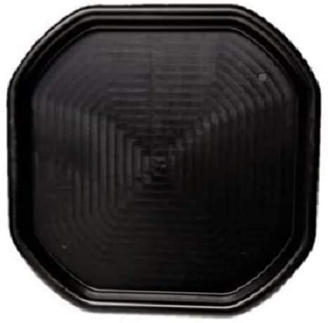Medium/Large Black Plastic Mixing Tray Sand Water Play Childern_Builder EQUIMENT (Medium - 70cm x 70cm)
