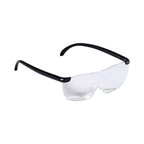 TRI Vergrößerungsbrille, Lesehilfe Sehhilfe Lupe Brillenvergrößerung, 160% optische Vergrößerung, Kunststoff, 14 x 16,5 x 4,5 cm