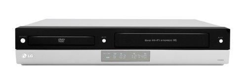 LG V 190 - Equipo Reproductor de DVD y Grabador Hi-Fi de vídeo (grabadora VHS 4 HD Stereo, grabadora SP / LP, Showview, Certificado DivX, Salida Audio Digital coaxial), Color Plateado