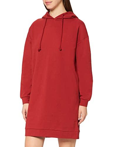 VERO MODA Damen VMOCTAVIA LS Hoodie Dress NOOS Kleid, Chili Oil, M