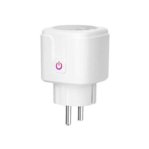 Sanfiyya Inteligente zócalo WiFi Enchufe 16A Interruptor Remoto Medidas de Control Mini...