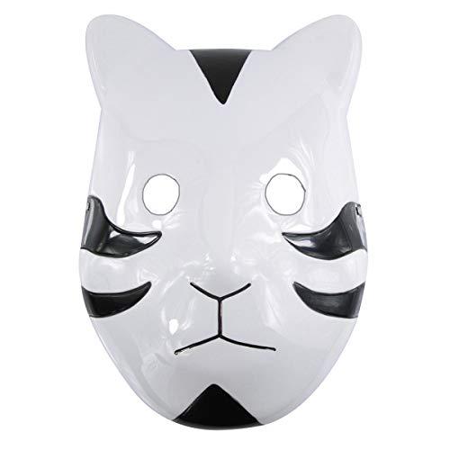 7Queen Ninja Shippuuden ANBU Anime Cosplay Mask Black Ops Mask Halloween Party Prop Mask (Black)