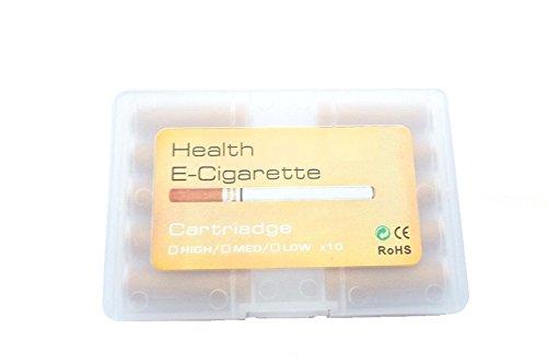 Champagner Aromakapseln, E-Zigarette Depots, 0.mg, in praktischer Klippverschlussbox für E-Health, Clever Smoke uvm.