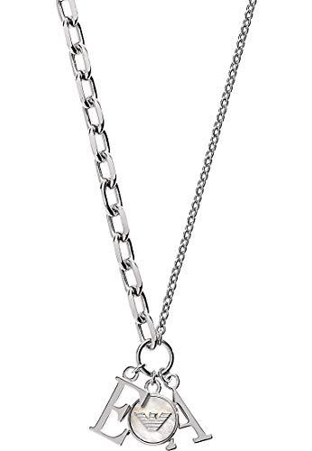 Emporio Armani damesketting zonder hanger 925 sterling zilver parelmoer EG3386040