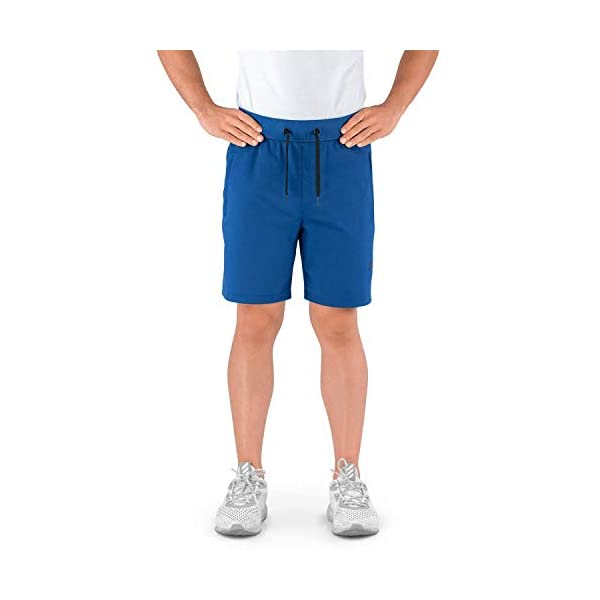 Contour Athletics Gym Shorts for Men with Zipper Pockets, Men's Athletic Shorts for Workout and Running Hydrafit