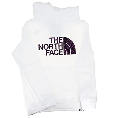The North Face Felpa da Ragazza con Cappuccio Drew Peak II Bianco Taglia M cod 558T-2AT