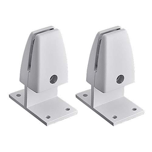 Schreibtisch-Trennwandklemme, 2 Stück, Tisch-Trennwand-Clip, Büro-Trennwand-Klemme, Schreibtisch-Trennwand-Halterung, Tisch-Trennwand-Klemme für Heimbüro