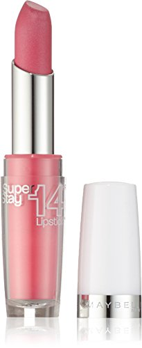 Maybelline New York Make-Up Lippenstift Superstay 14h Megawatt Lipstick Ultimate Blush / Zartes Pink...