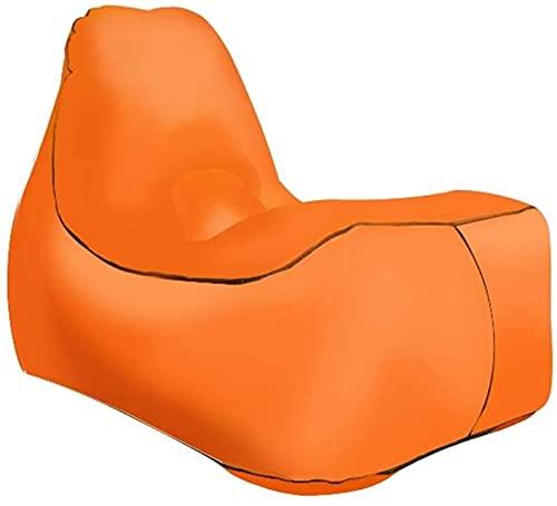 OYY Manufacture Piscinas hinchables Silla Plegable al Aire Libre, Camping de Verano cómodo Tumbona Inflable sofá Inflable con Bolsa de Almacenamiento Silla de Aire será para Parque Sofá Piscina Playa