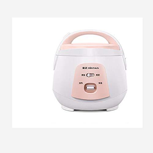 TL Reiskocher, 1.8L Mini Smart Gedämpfter Reis Tragbare Reiskocher für Haushalt