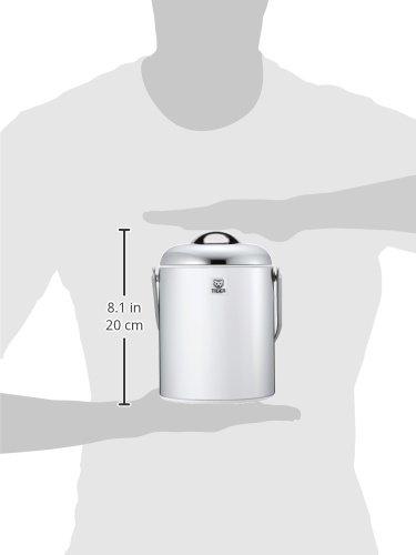 タイガー魔法瓶アイスペール1.35Lステンレス蓋アイストングセットIPG-140P-XSTiger