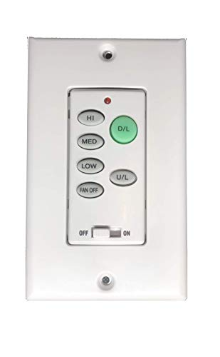 Ceiling fan remote wall control UC9050T with Up light and Down light NO reverse