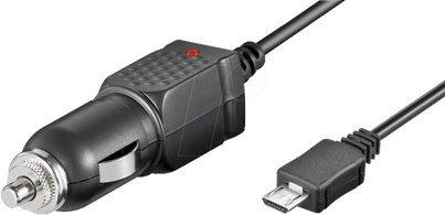 GIGAFOX® Auto KFZ-Ladegerät Ladekabel 1000mA (Micro-USB) für Cat B25 - für schnelles Laden